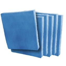 25 x 30 x 1 Filter Pads Blue / White Polysynthetic 2-Stage