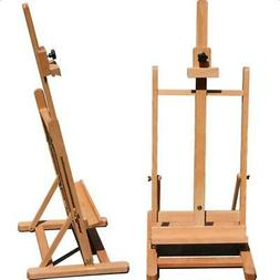 Adjustable Large Artist Painters Wood Table Easel Floor Stan
