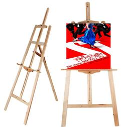 Portable Durable Artist Wood Easel Art Stand Drawing w/Board