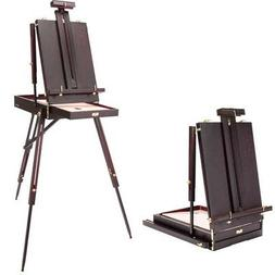 SoHo Urban Artist Lightweight Mahogany Wooden French Easel A
