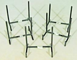 A Lot of Five  Very Sturdy SMALL Iron or Metal Easel Display