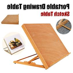 A2 Student Wood Desk Easel Drafting Drawing Board Kids Adult