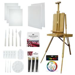 Art Advantage Acrylic Essentials with French Easel Value Pac