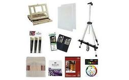 ART ADVANTAGE ART-914136 OIL VALUE PACK WITH FIELD EASEL