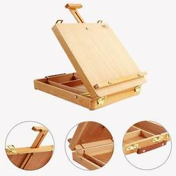 art wood table painting easel portable drawer