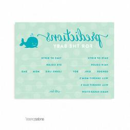 Andaz Press Boy Whale Nautical Baby Shower Collection, Games