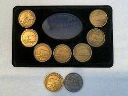 Collector's Series DREAM PLAN BUILD Medallions set of 9 with
