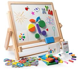 Double-Sided Art Easel 80pc Activity Set for Kids - Magnetic