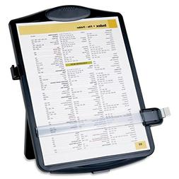 Easel Document Holders, Adjustable, 10 x 2 x 14 Inches, Blac