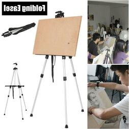 Folding Easel Stand for Display Floor Poster Adjustable Alum