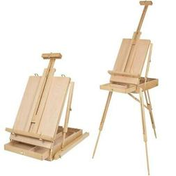 french tripod easel folding durable wooden sketch