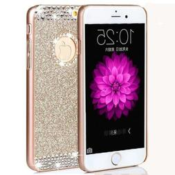 iPhone 7 Case,ARSUE  Luxury Hybrid Beauty Crystal Rhinestone