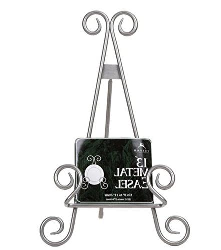 """13"""" Finish Stratford Metal Easel Plate Photo"""