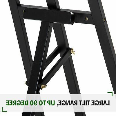 "55""H Folding Easel Painting Display Rack"