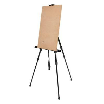 Adjustable Artist Iron Folding 165CM Height Poster Stand Dis