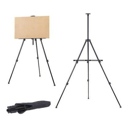 Portable Artist Folding Painting Easel Adjustable Display Tr