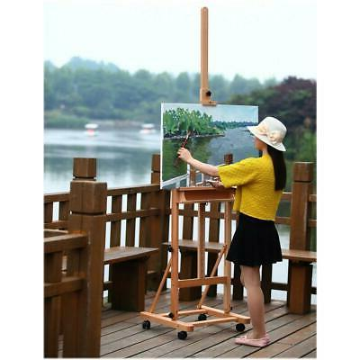 Adjustable 360 Durable Wooden Easel Drawing W/Board