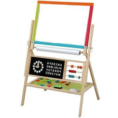 Double Sided Magnetic Art Standing Writing Kids Children