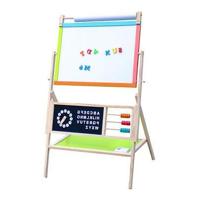 Double Sided Magnetic Display Art Writing Kids Children Drawing