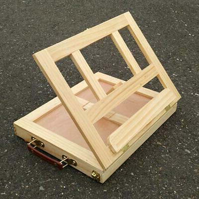 Artist Desk Easel with Storage Drawer-Painting School