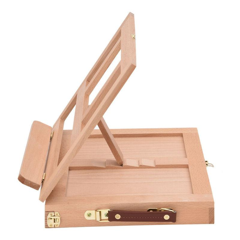 French Easel Art Sketch Box Portable Artist Painters Stand