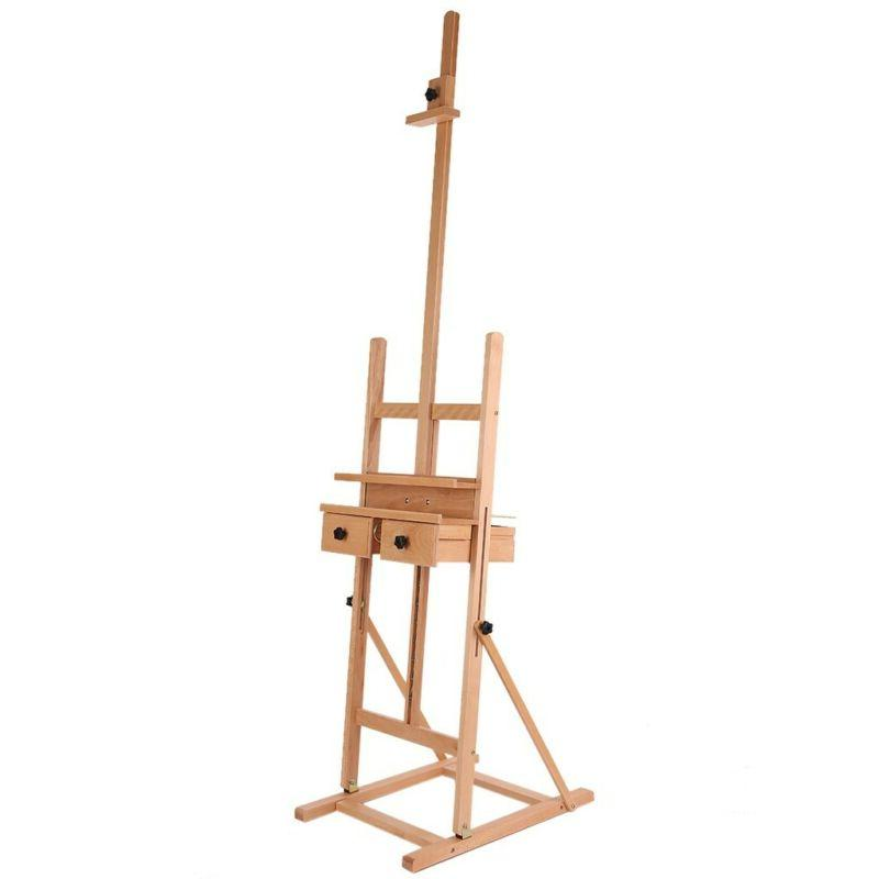French Art Sketch Box Portable Painters Tripod Stand Display