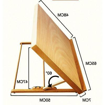 French Folding Artist Table Easel Painter Drawing Board