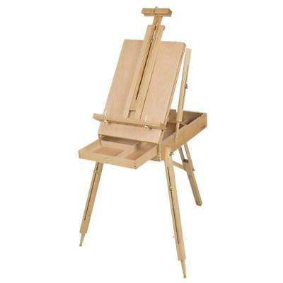 French Durable Wooden Sketch Portable Craft