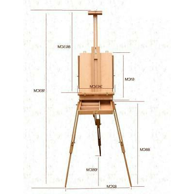 French Easel Durable Wooden Portable Art Painter