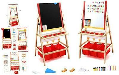 kids art easel with paper roll double