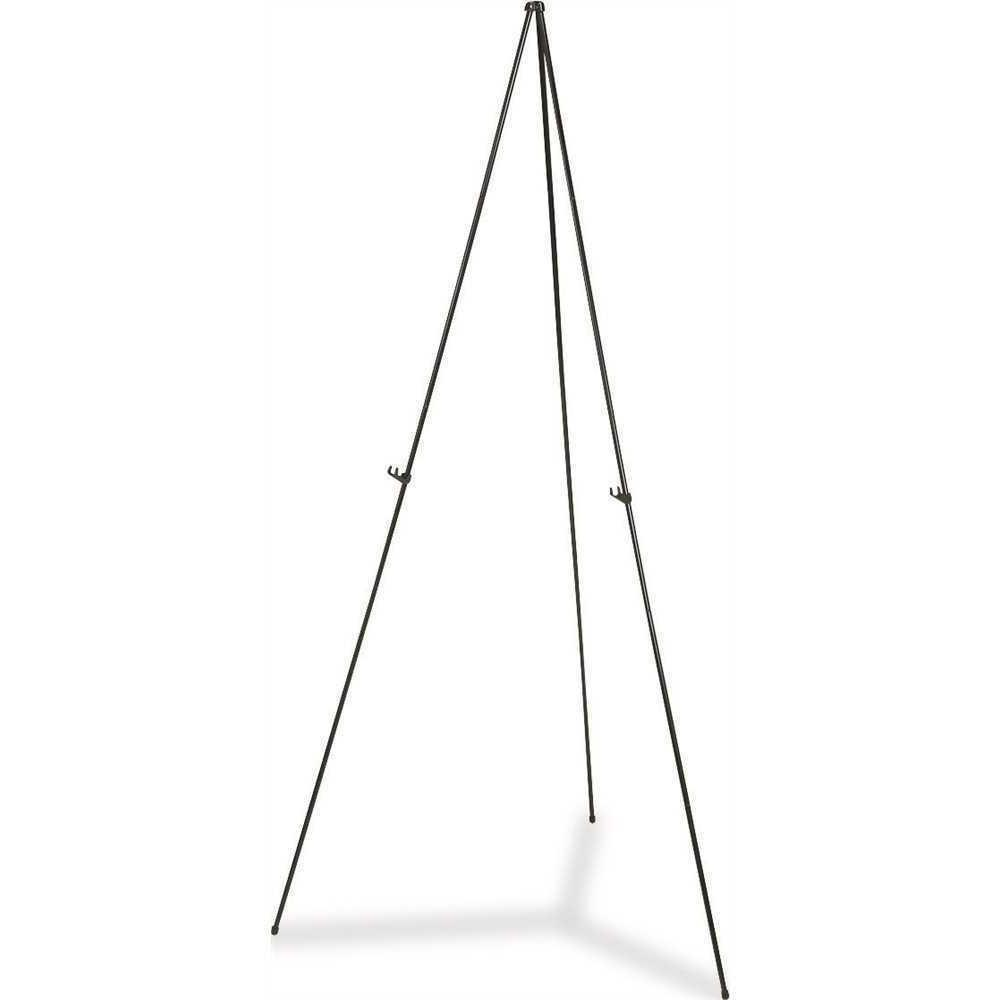 lightweight aluminum telescoping display easel 65 inches
