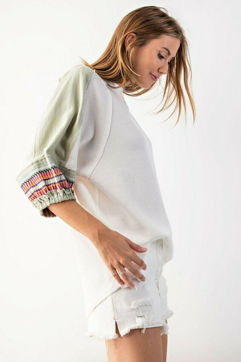 EASEL Knit Tunic