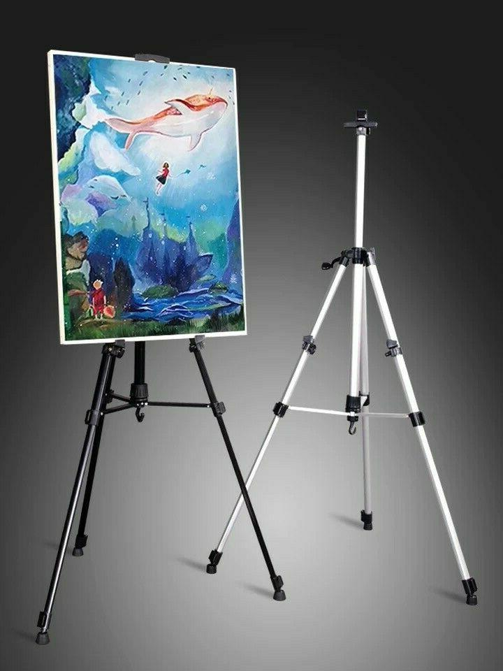 Painting 66-inch Tripod Painting Adjustable Floor Easels
