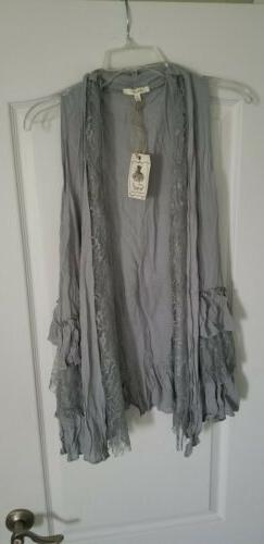 Easel Vest small gray color