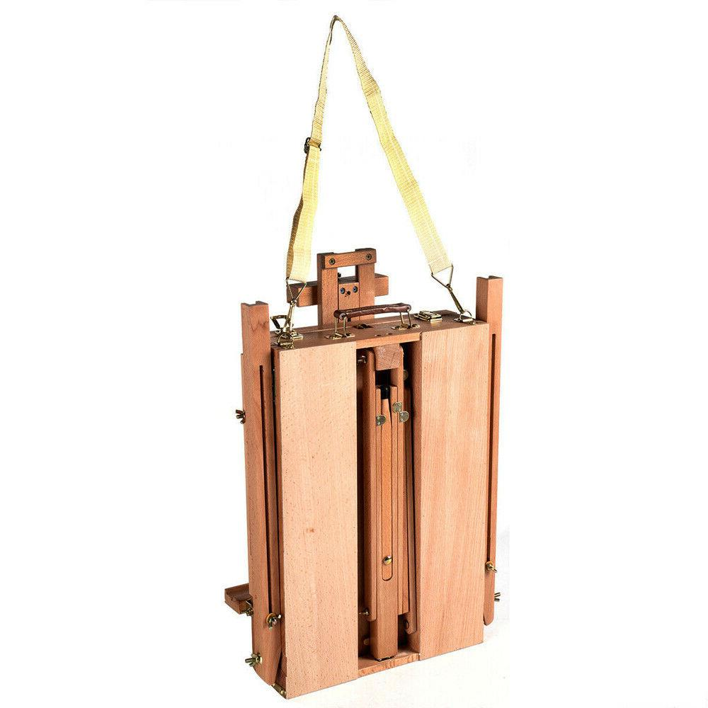 Wooden Oil Sketch Folding Durable