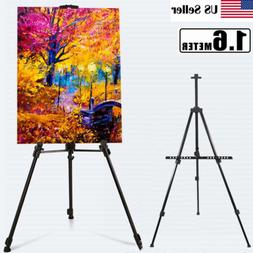 Metal Telescoping Tripod Artist Easel Display Stand Painting