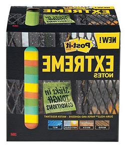 Post-it Extreme Notes, Green, Orange, Mint, Yellow, Great fo