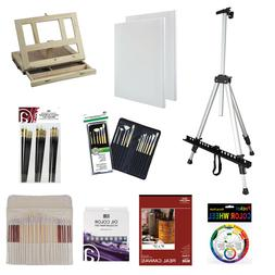 Art Advantage Oil Essentials with Field Easel Value Pack Set