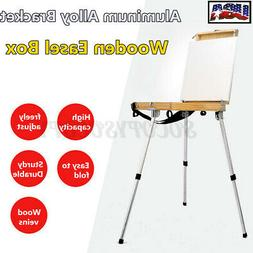 Portable Wooden Easel Drawing Sketch Painting Box Oil Paint