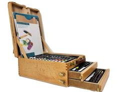 Royal & Langnickel 104 Piece All Media Easel Artist Set