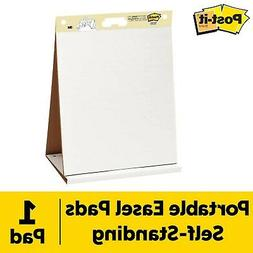 """Self-Stick Tabletop Easel Unruled Pad, 20"""" X 23"""", White, 20"""