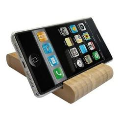 Smart Phone Cellphone Pad Tablet Displays Stand Easel Bamboo