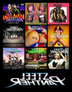 STEEL PANTHER album discography magnet  heavy metal rules