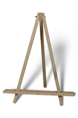 American Easel 24 Inch Table Top Tripod-Natural Fir