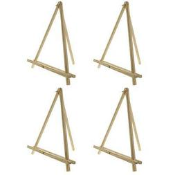 US Art Supply 12 inch Tall Tripod Easel Natural Pine Wood