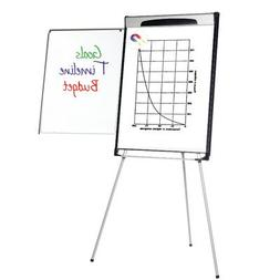 "Tripod Extension Bar Magnetic Dry-Erase Easel, 39"" to 7"