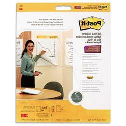 Post-it Wall Pad with Command Strips, 20 x 23-Inches, White,