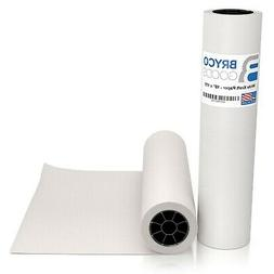 White Kraft Arts and Crafts Paper Roll - 18 inches by 175 Fe