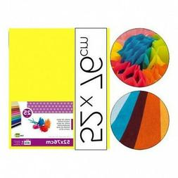 Yellow Silk liderpapel Paper 52 x 76 cm 18 GR – Package of